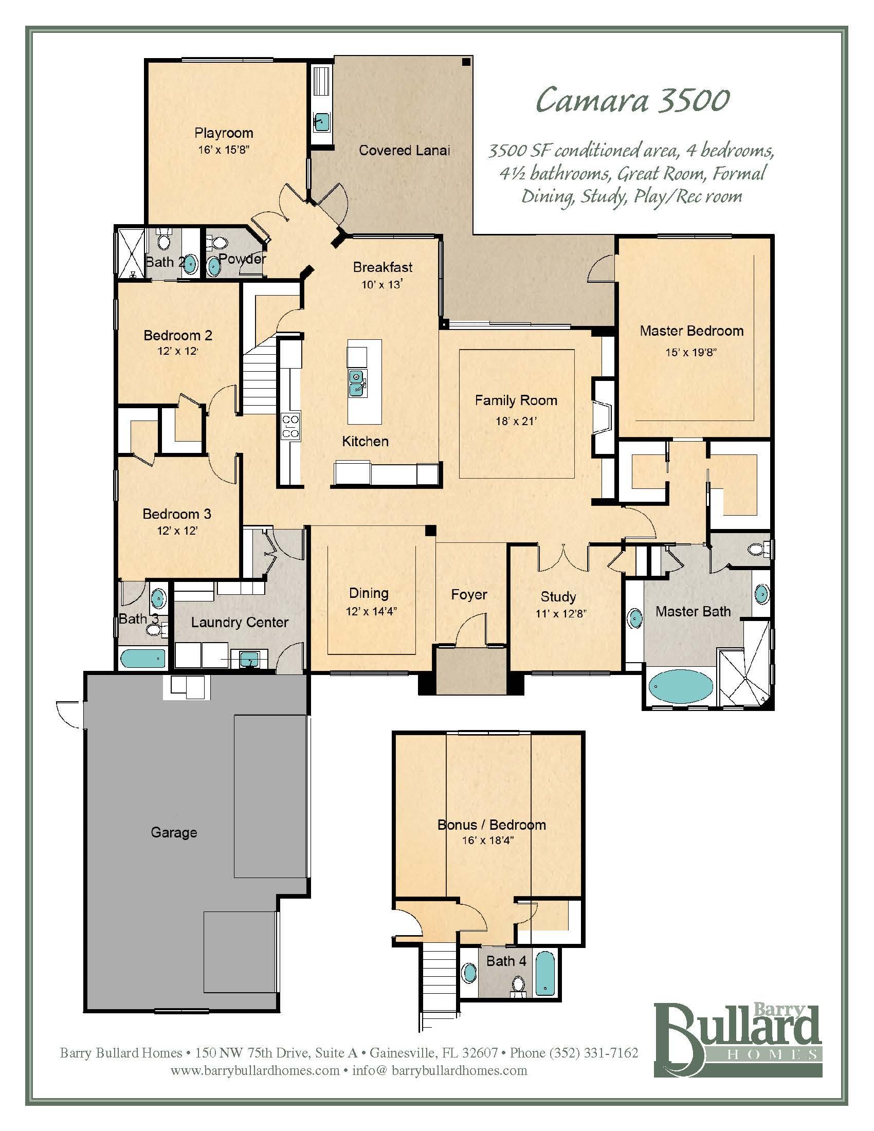 custom homes gainesville FloorPlans