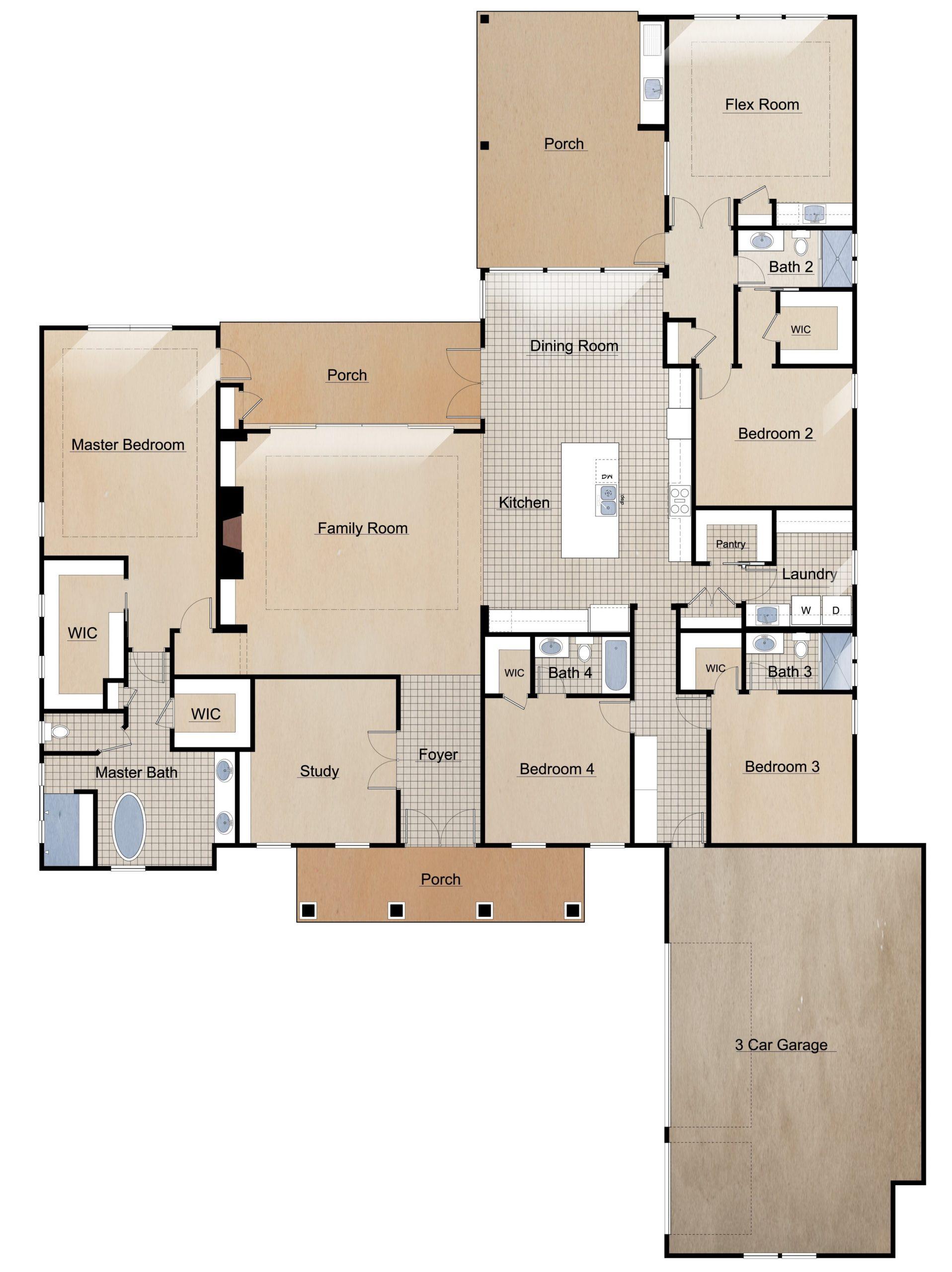 Lot 40 Floor Plan 12.19.18